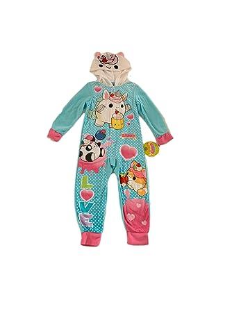 959e7a095 Amazon.com  AME Smooshy Mushy Girls Poly 1-Piece Footless Sleeper ...