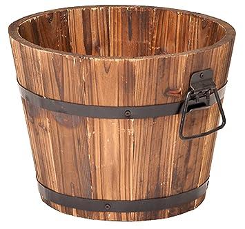 Amazon Com Devault Enterprises Devbp208 S Round Barrel Planter