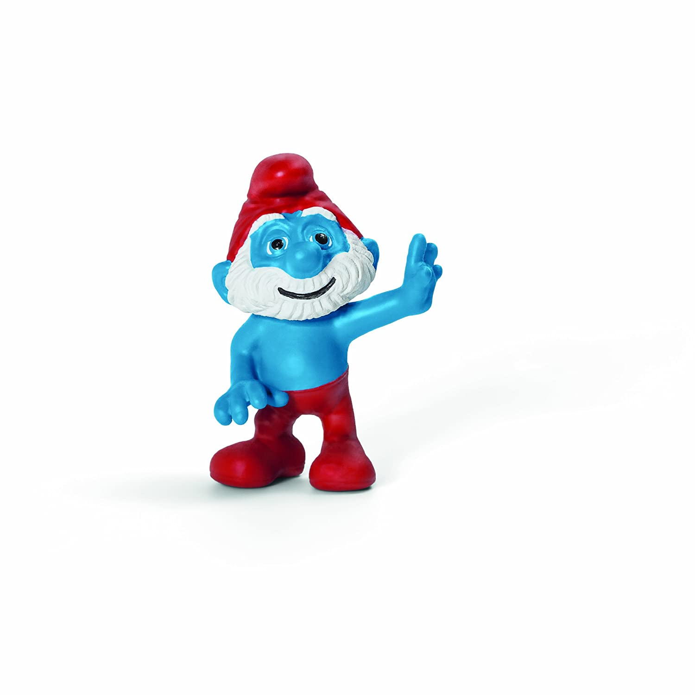 Schleich Papa Smurf Movie Toy Figure Schleich North America 20754