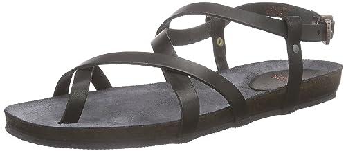 Fred de la Bretoniere Fred comfort sandalet cross straps elegant last Elche Damen Offene Sandalen