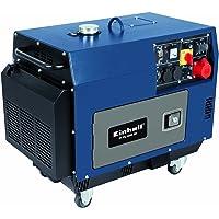 Einhell BT-PG 5000 DD - Generador (5000 W, diésel) color azul