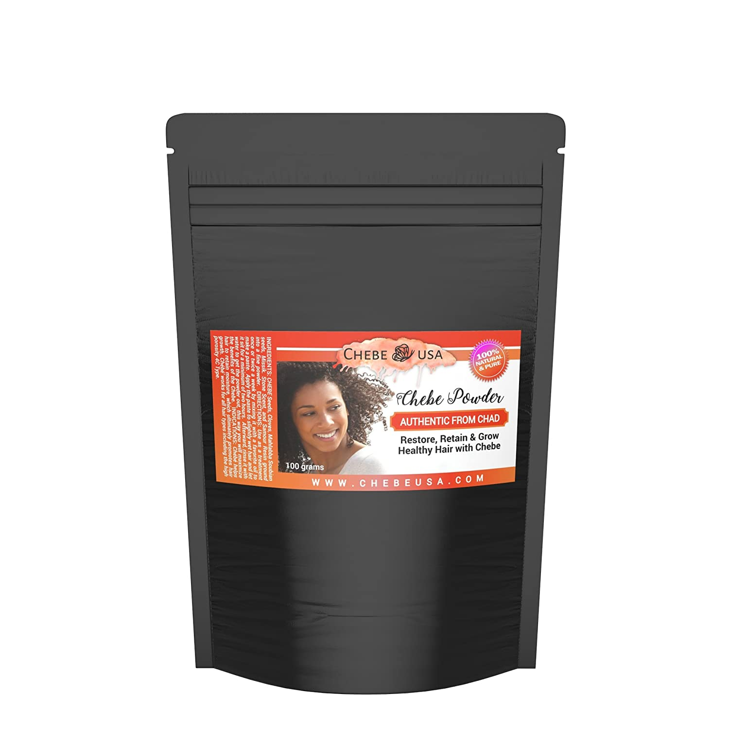 Chebe Powder Sourced Directly From Miss Sahel And The Ladies In Her Video. Miss Sahel Has Listed Chebe Usa As Her Vendor In Usa   100 Grams by Uhuru Naturals
