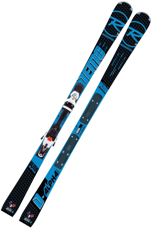 ROSSIGNOL ロシニョール スキー セット 2点 17-18 DEMO ALPHA R21 RACING デモアルファ SPX 15 Rockerflex 白い Icon ビンディング付き  ワクシング施工無し