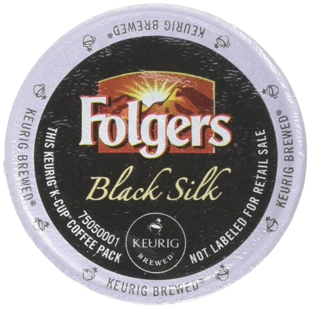 Folgers Gourmet Selections Black Silk Coffee K-Cups,Pack of 96