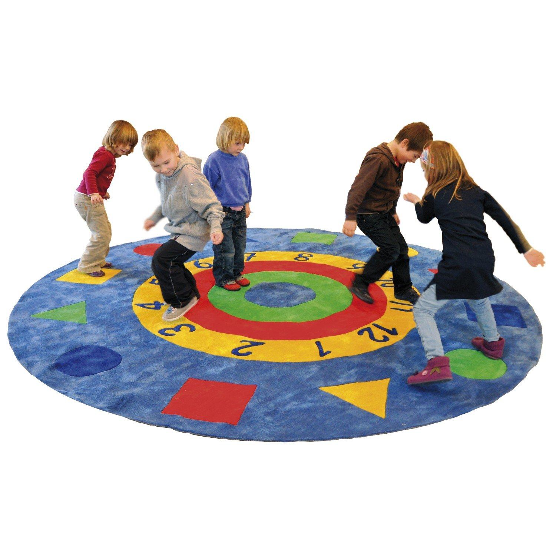 Eduplay Spiel & Zahlen Teppich rund Ø 300cm, gedruckt