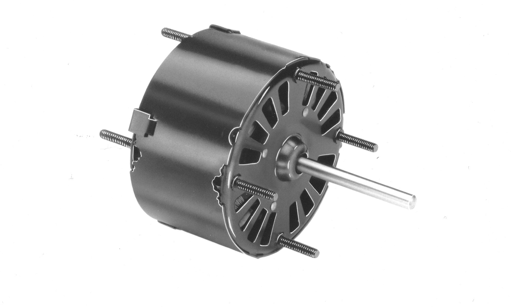 Fasco D132 3.3'' Frame Open Ventilated Shaded Pole General Purpose Motor with Sleeve Bearing, 1/20HP, 1500rpm, 115V, 60Hz, 1.8 amps, CW Rotation