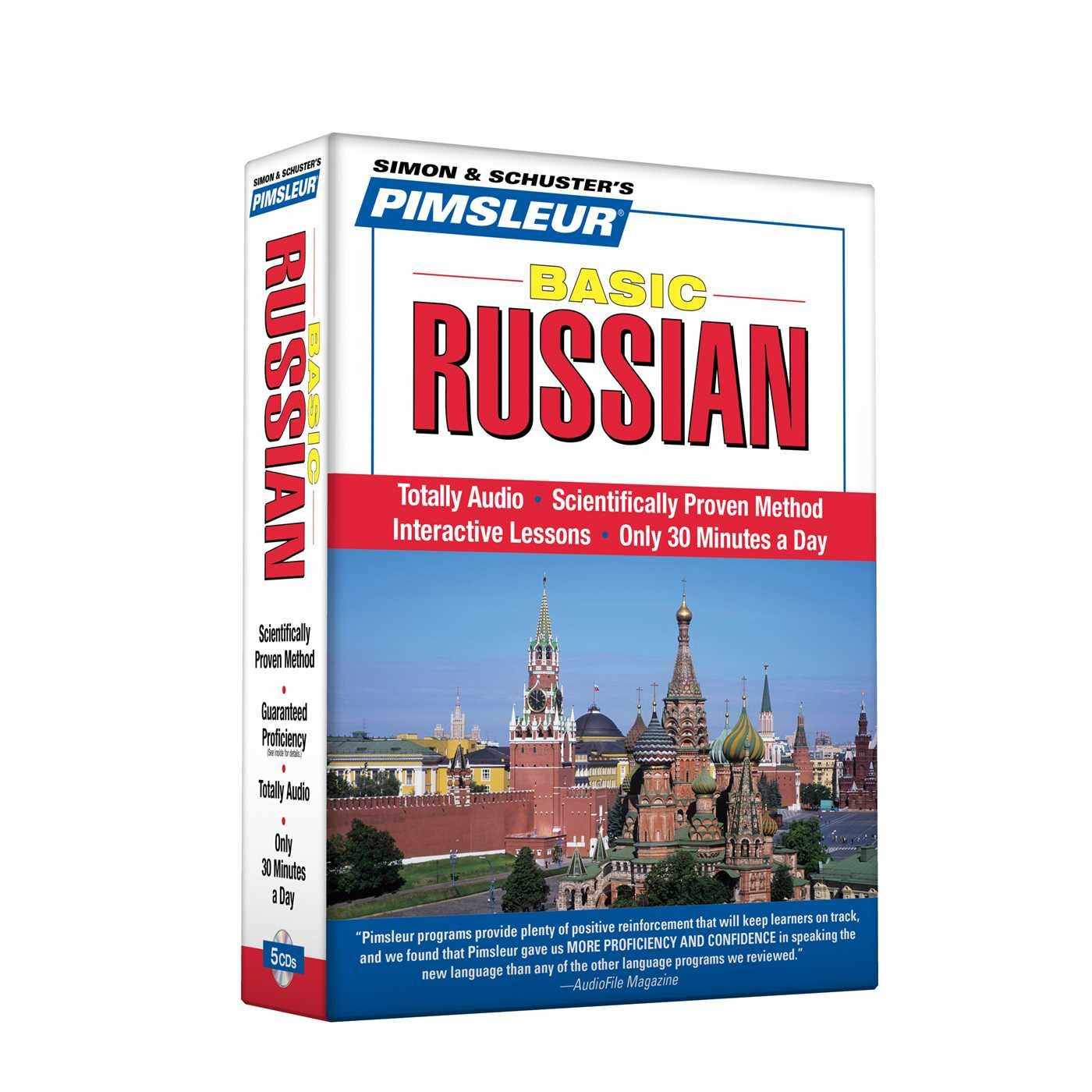 Pimsleur Russian Basic Course - Level 1 Lessons 1-10 CD: Learn to Speak and Understand Russian with Pimsleur Language Programs by Brand: Pimsleur