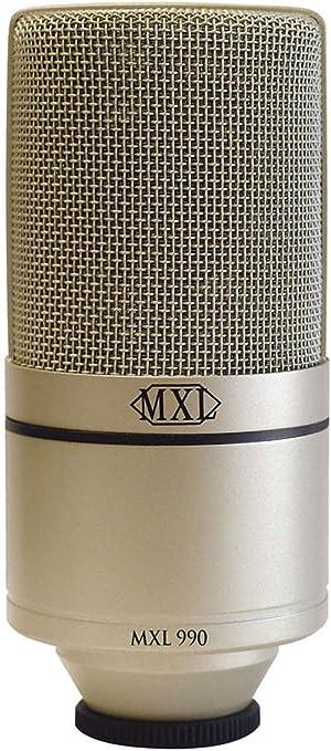 MXL 990, XLR Condenser Microphone