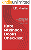Kate Atkinson Books Checklist: Reading Order of Jackson Brodie Series, Todd Family Series and List of All Kate Atkinson Books