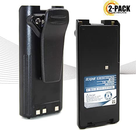 GoodQbuy 1800mAh Replacement Two-Way Radio Battery Packs BP-209 BP-210 BP-222 BP-209N BP-210N BP-222N For ICOM Radios C-A6 IC-A24 IC-F30GT IC-F30GS IC-F40GT IC-F40GS IC-F3GT IC-F3GS IC-V8 GoodQbuy® BAT-BP-210-A