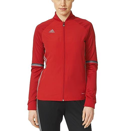 43681303dbeb Amazon.com  adidas Condivo 16 Womens Training Jacket  Sports   Outdoors