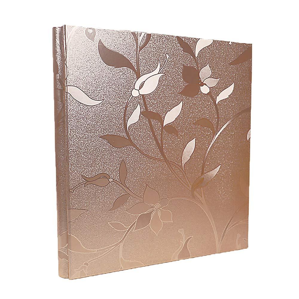 RECUTMS Leather Cover Photo Album 600 Pockets Sewn Bonded Memo Album Slots Album Hold 4x6 Photos 5 Per Page Valentines Day Present Wedding Memory Album