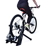 Fluid Bike Trainer, Super Quiet Indoor Bicycle Exercise Training stand,Smooth Fluid Resistance Indoor Exercise Trainer Stand