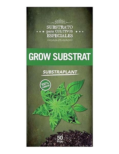 Substrato Plantas Cannabis, Aromáticas, Medicinales... - 50 L: Amazon.es: Jardín