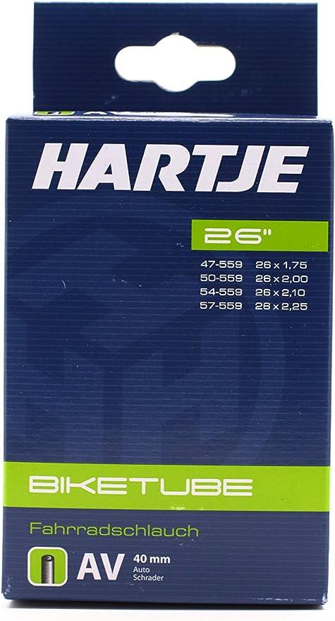 Hartje 7539158 - Cámara de aire para bicicletas (26) , talla ...