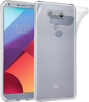 XTCASE Funda LG G6 Silicona Transparente, Ultrafina Suave TPU ...