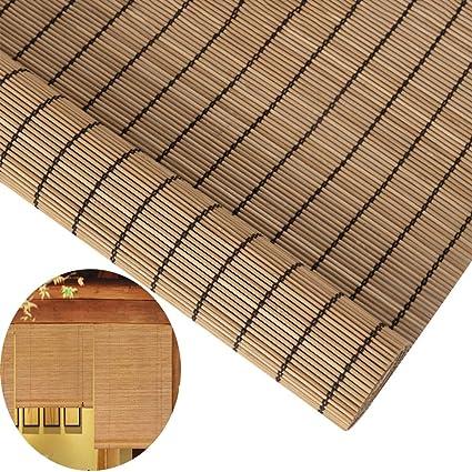 Amazon.com: GDMING - Estor de bambú para interior y exterior ...