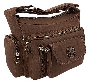 ekavale Leichte hochwertige Damen Handtasche Umhängetasche