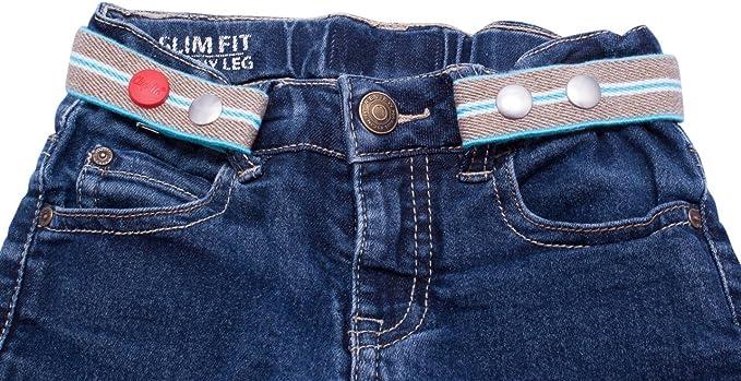 164-176 Elastischer G/ürtel rosa Gr Der G/ürtel ohne Schnalle mit Metallenden Clip.Ho TWO