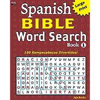 Spanish Bible Word Search Book 1