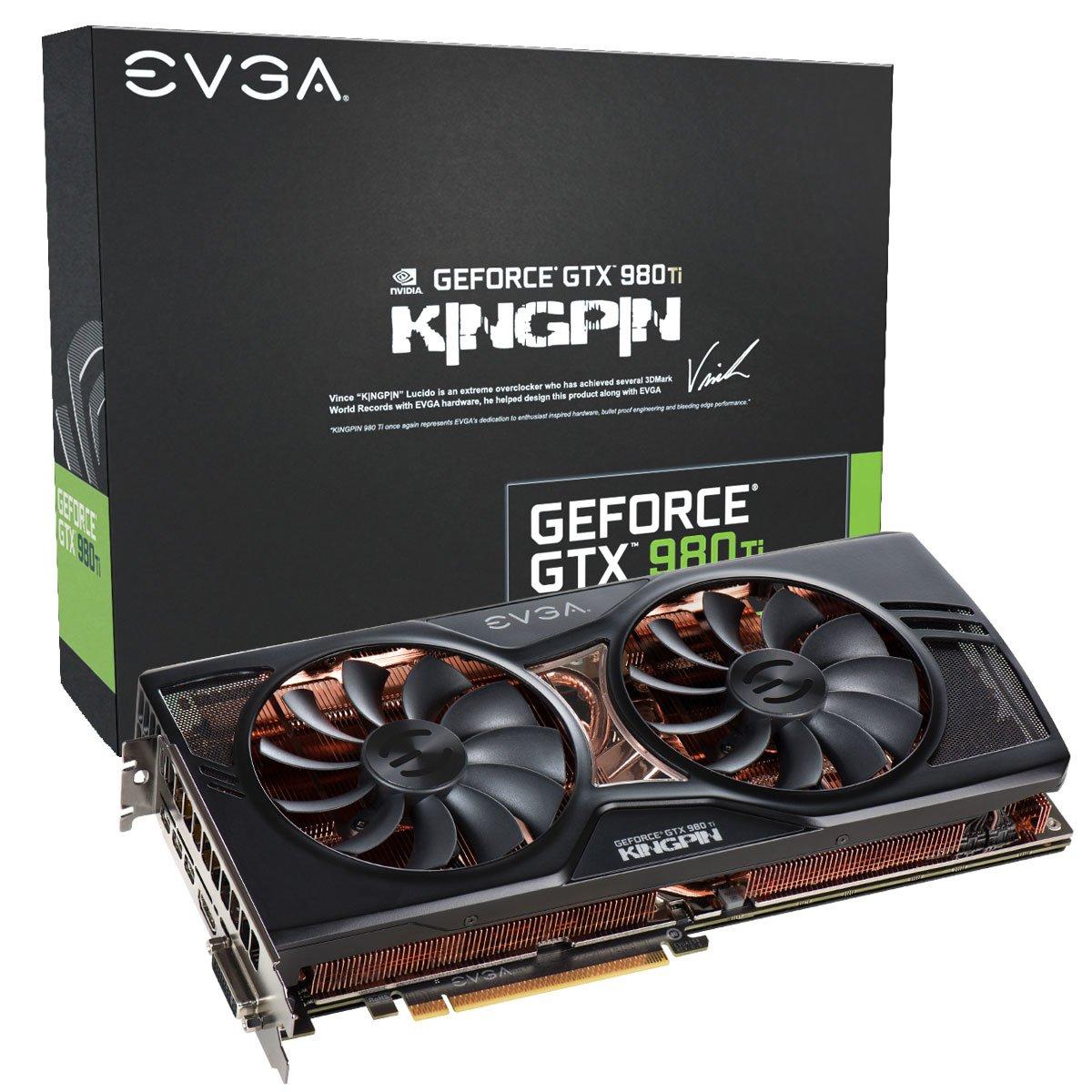 EVGA 06G-P4-5998-KR NVIDIA GeForce GTX 980 Ti 6GB - Tarjeta ...
