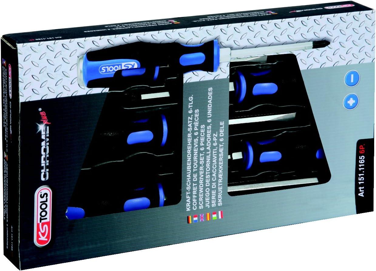 KS Tools 151.1165 Pack Destornilladores de Impacto Ergotorque, en ...
