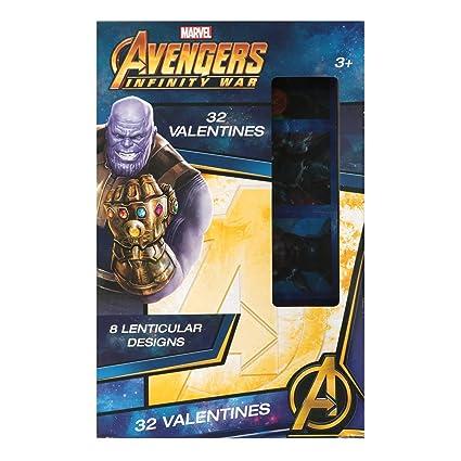 Avengers Infinity War 32 - Tarjetas lenticulares de San ...