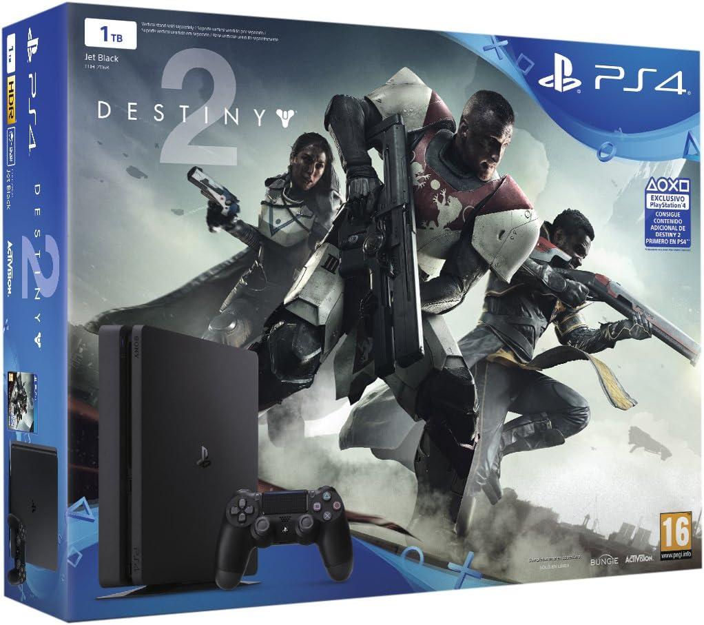 PlayStation 4 - Consola De 1 TB + Destiny 2: Amazon.es: Videojuegos