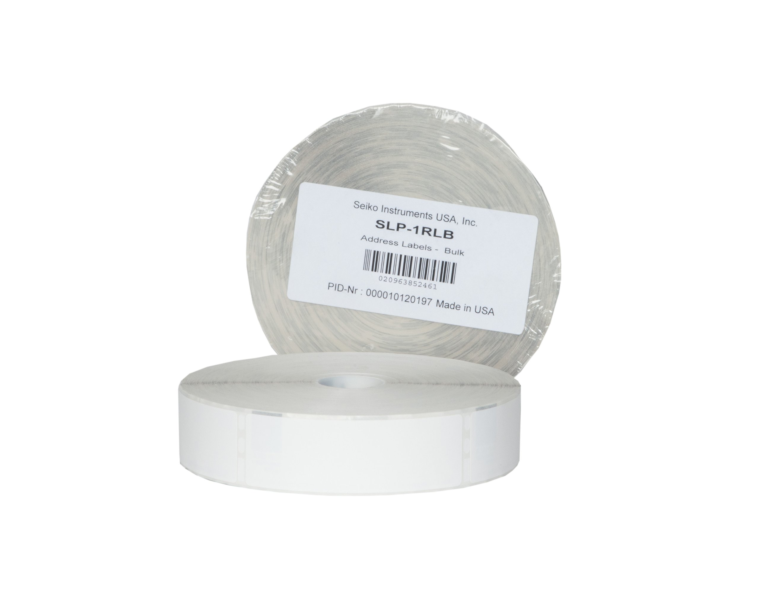 Seiko Instruments White Address Labels for Smart Label Printer 650 and 650SE (SLP-1RLB)