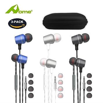 Auriculares/Auriculares/Auriculares con micrófono estéreo y Mando a Distancia para Apple iPhone 6s