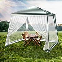 Mountview Gazebo Marquee 3x3m Mesh Side Wall Outdoor Canopy Wedding Tent Gazebos