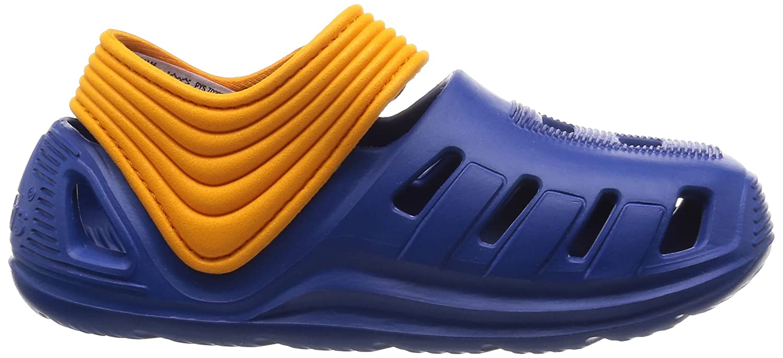Adidas Snice 4 CF I, Zapatos (1-10 Meses) Unisex Bebé, Azul/Blanco/Naranja (Eqtazu/Ftwbla/Eqtnar), 22 EU