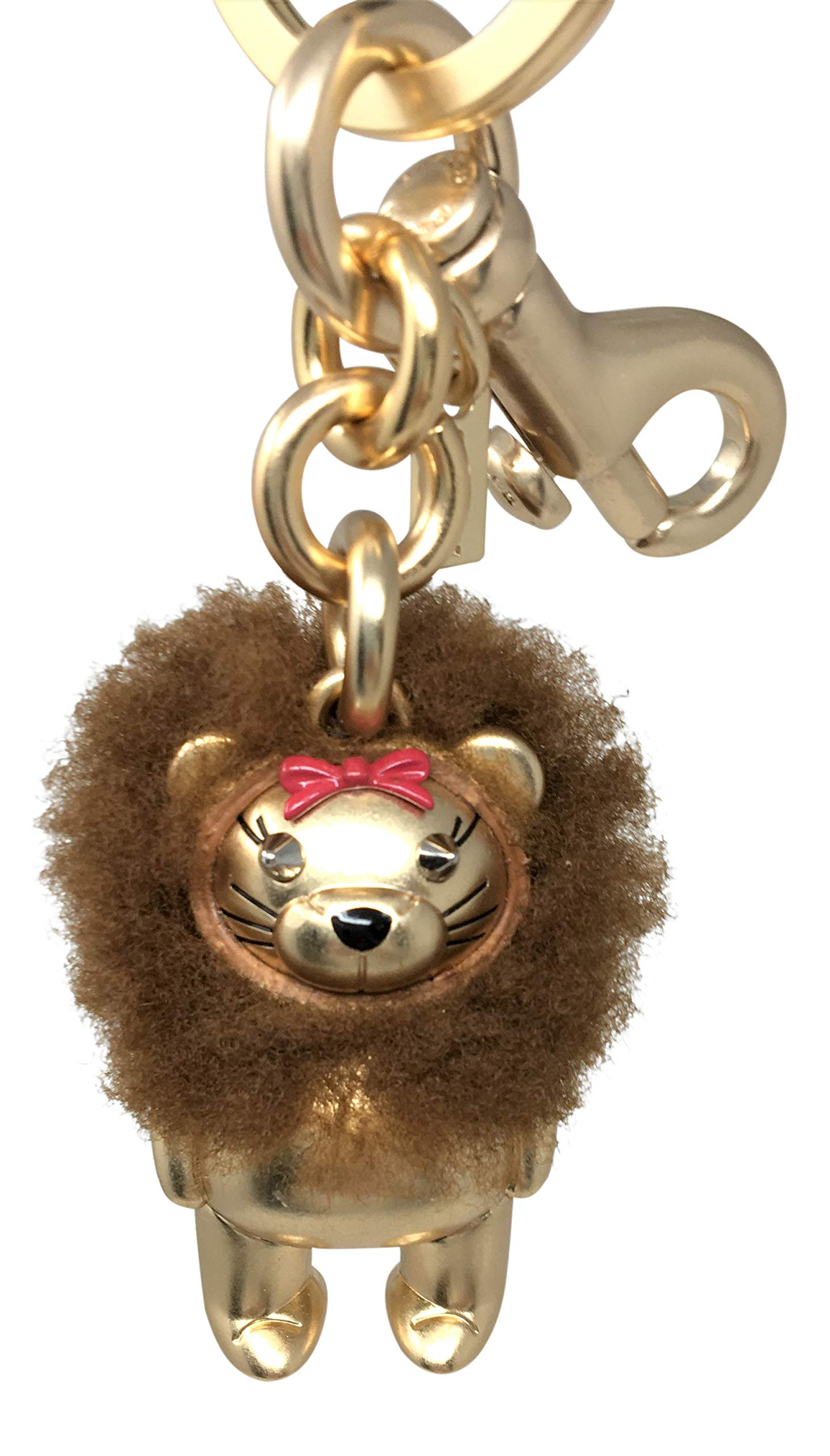 Coach Wizard of Oz Cowardly Lion Bag Purse Keychain Key Ring Fob Charm F35249 …