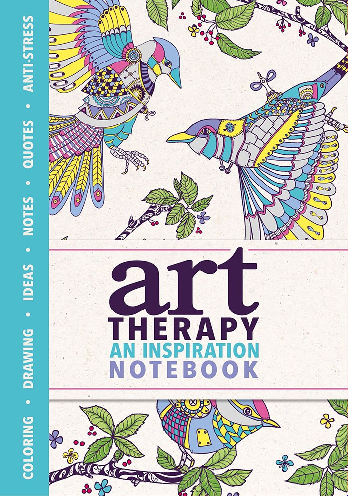 Amazon Art Therapy An Inspiration Notebook Miniature Editions 9780762459889 Sam Loman Books