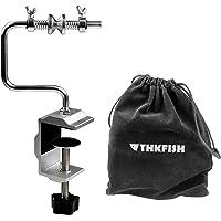 Thkfish Schnurspulgerät mit Saugnapf Klemme Handhaspel Angelschnur Spool Spooler System