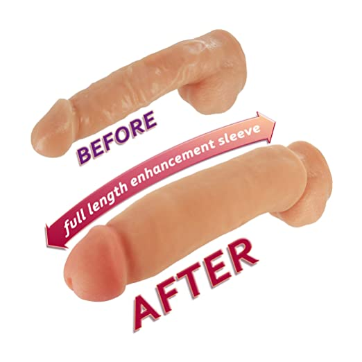 Sexflesh Fat Jack Penis Enlarger Sleeve