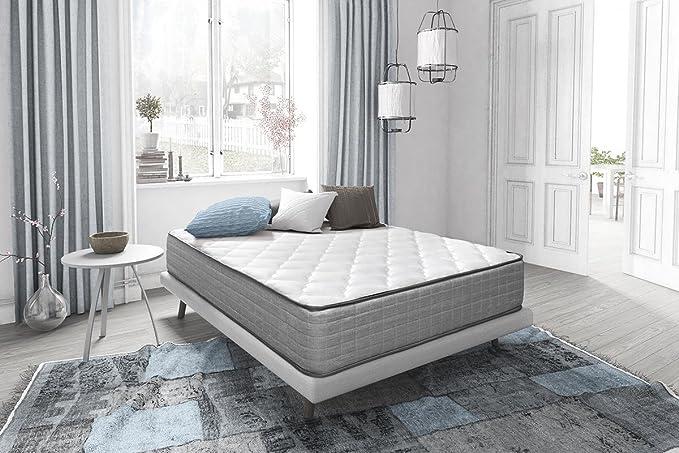 Sleepens Colchón de HR Espumación de alta densidad, alto - 30 cm - cama de 150 cm: Amazon.es: Hogar