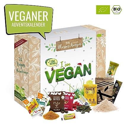 Veganer Weihnachtskalender.Bio Vegan Advent Kalender I Veganer Weihnachtskalender Mit 24 überraschungen Ausgefallener Adventskalender Für Erwachsene Adventskalenderideen Ohne
