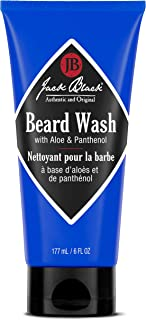 product image for Jack Black - Beard Wash, 6 fl oz - PureScience Formula, Aloe & Panthenol, Multifunctional Beard Treatment, Softens Facial Hair, Removes Oil and Dirt, Conditions Facial Hair and Skin
