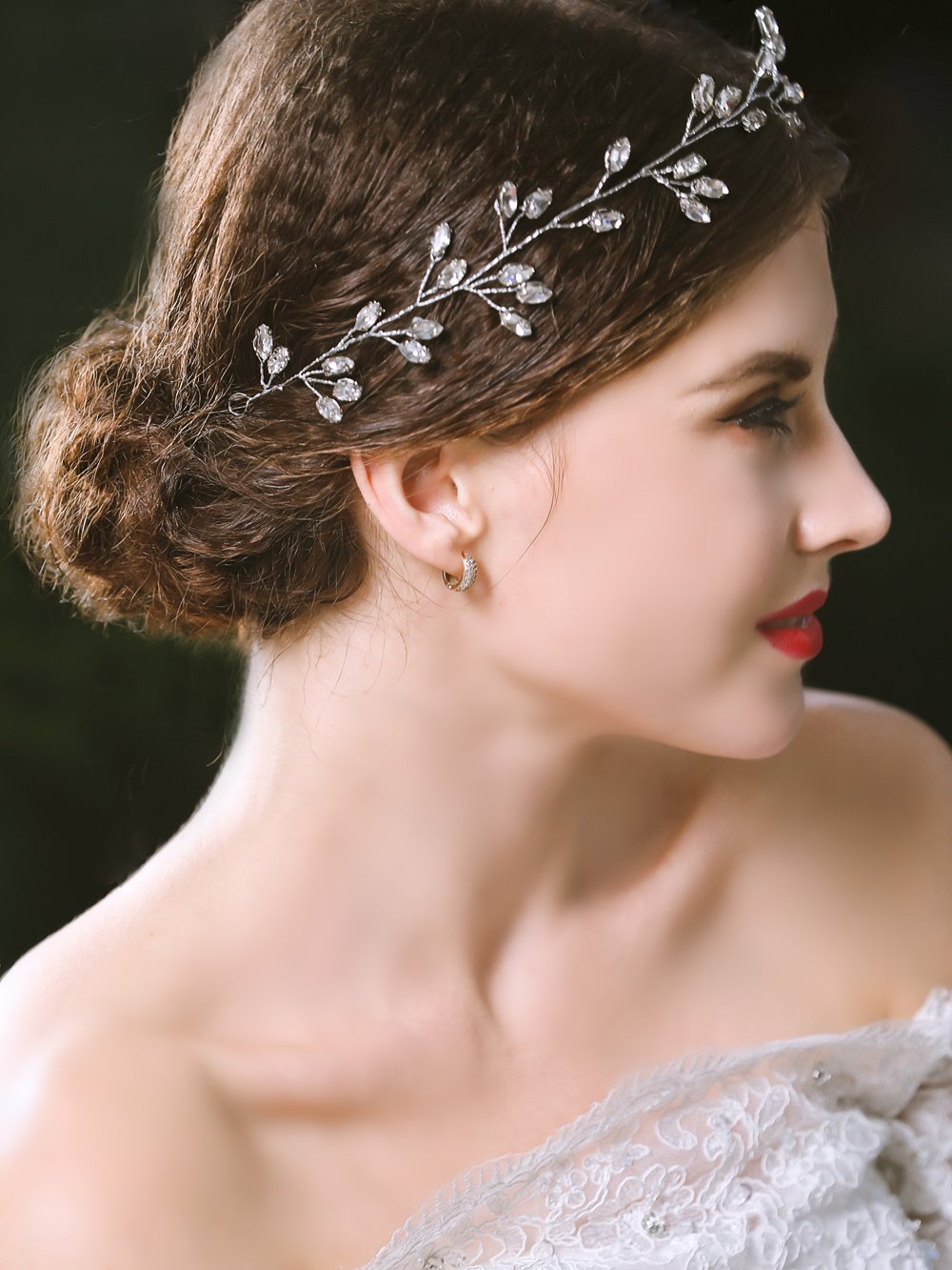 Amazon.com : Yean Wedding Bridal Headband for for Women and Girls ...