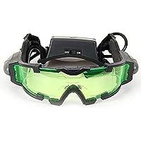 DMZK Gafas de visión Nocturna con Azul LED, Protectoras de Ojos para niños