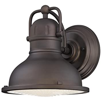 Westinghouse 6203400 Orson One Light LED Outdoor Wall Fixture Oil Rubbed Bronze Finish With