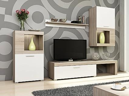 HomeDirectLTD Golf Set mobili da salotto moderno, Mobile a parete TV ...