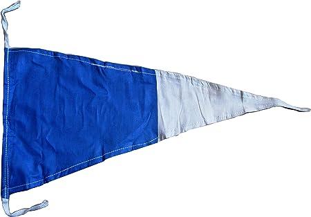 "16/"" X 28/"" Nautical // Boat LARGE FLAG Marine Code B Naval Signal Flag"