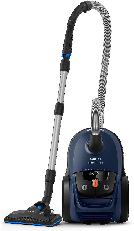 Philips Performer Silent Aspirador con Bolsa, 650 W, 4 ...