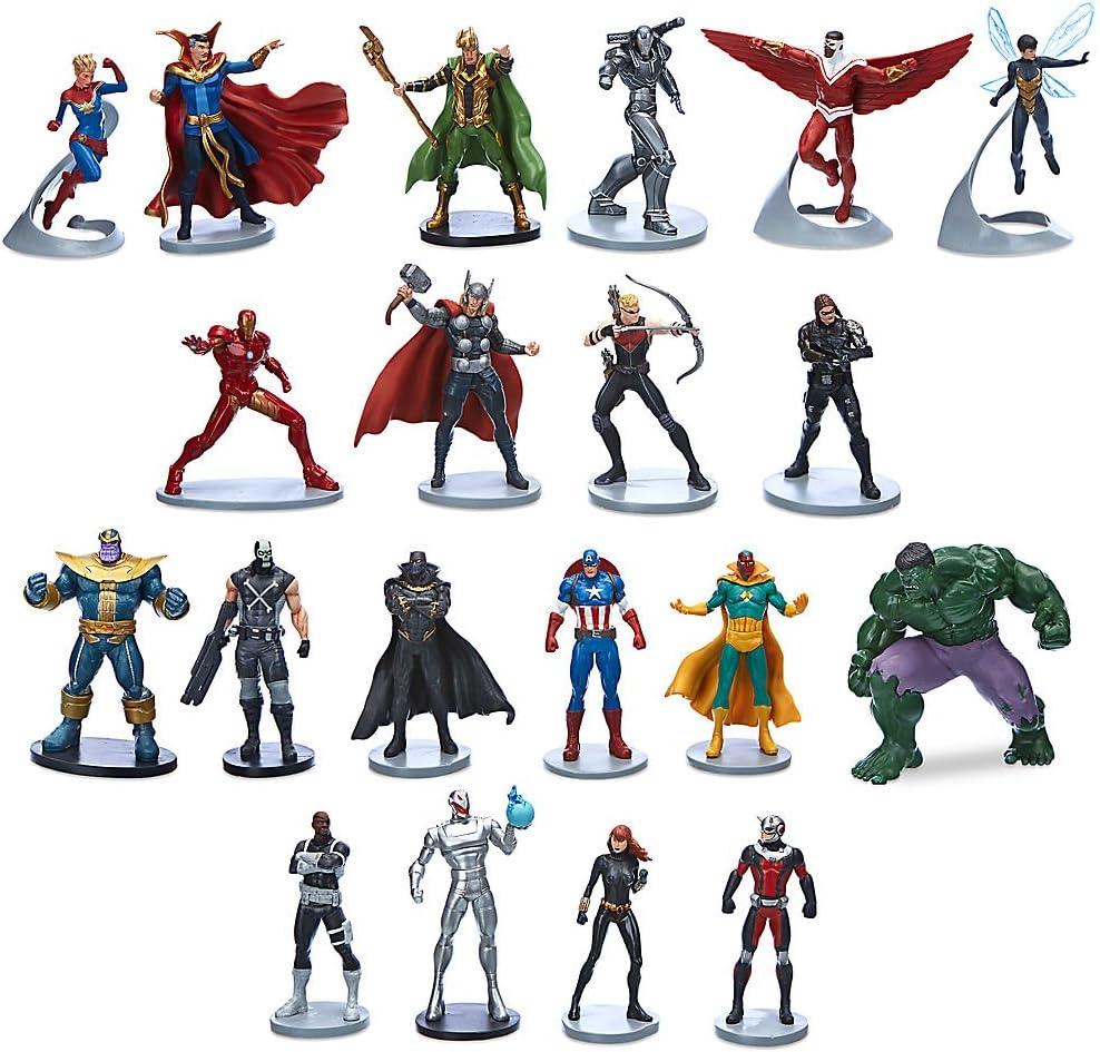 Disney Marvel Avengers Mega Figurine Set: Amazon.es: Juguetes y juegos