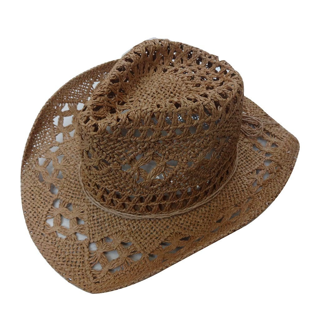 Antique Future Men and Women Straw Cowboy Hat