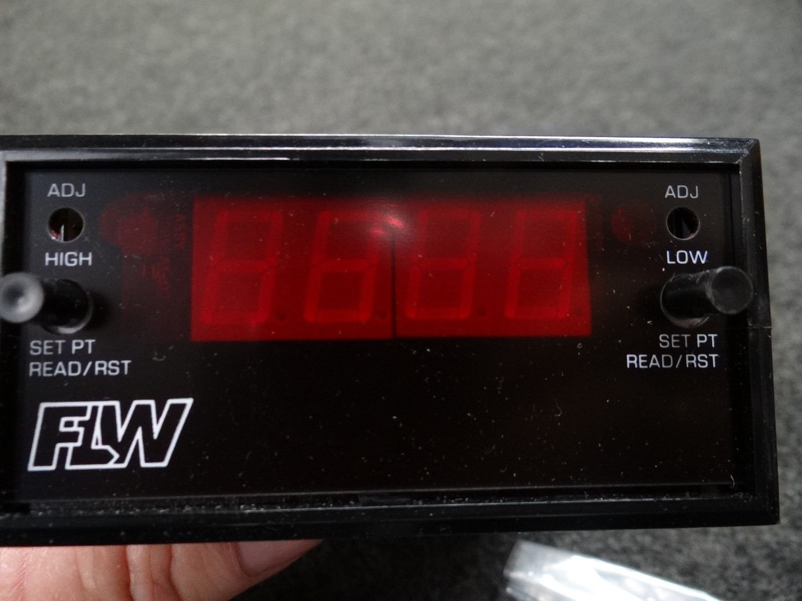 New Newport FLW Digital Panel Meter Q2002 JDF1, 120V, 3W