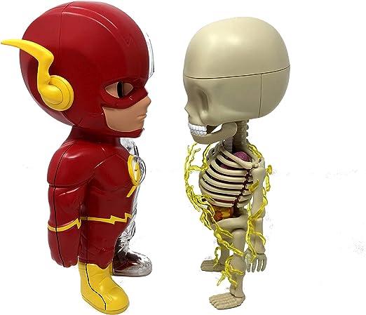 "Mighty Jaxx XXRAY DC Comics Golden Age 4/"" The Flash Worldwide Free S//H"