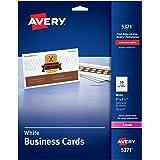 amazon com avery blank printable tickets tear away stubs